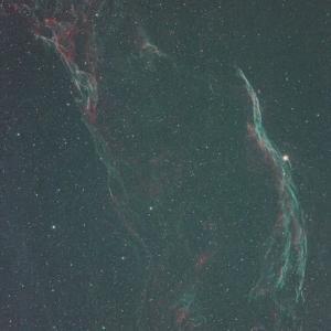 月明かりでの天体写真