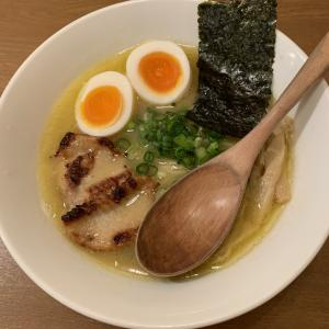 食べ歩き録 神田・お茶の水「鶏ポタラーメンTHANK」鶏と野菜のポタージュ!