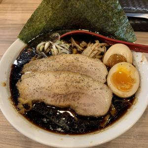 食べ歩き録 東小金井「くじら食堂」濃厚漆黒スープのラーメン・特製ブラック