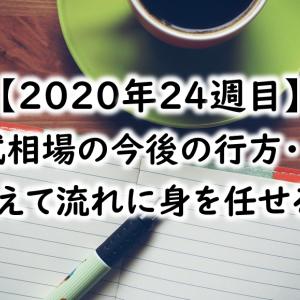 【2020年24週目】日本株を利確し米国ETFを買い増し!