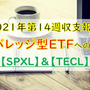 【2021年第14週】レバレッジ型ETFへの投資!SPXLとTECLを購入してみた結果!