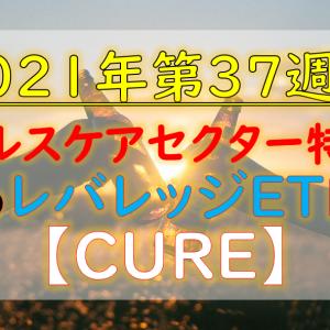 【2021年第37週】ヘルスケアETFのレバレッジ【CURE】の紹介!