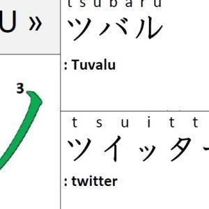 KATAKANA – ツ « TSU »