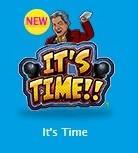 ロックンロールに乗って、ノリノリの新ゲーム「It's Time(イッツタイム)」