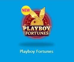 ベラジョン新ゲーム「プレイボーイフォーチュンズ」 プレイボーイそのまんまのイメージでムフフ