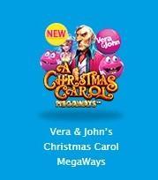 ベラジョン・PragmaticPlayコラボの新ゲーム「クリスマスキャロルメガウエイ」はラッキーが出てきて楽しい!