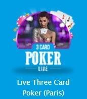 ベラジョン ライブ ポーカー テーブルリミット