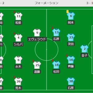 試合レビュー J1 鹿島アントラーズ VS 湘南ベルマーレ 第18節
