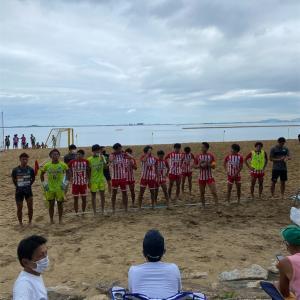 ビーチサッカー九州大会結果!