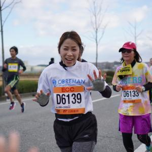 小野ハーフマラソン2019。コアマンジョギングクラブ今年最終戦!