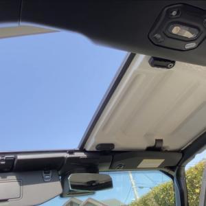 【ラングラーJL】屋根の外し方と収納方法