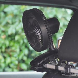 【ラングラーJL】後部座席のエアコンの効きが悪いので小型扇風機を設置してみた