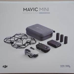 ドローン初心者がMAVIC MINIを購入レビュー 少し飛ばしてみた感想