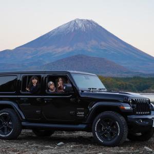 ラングラーで1泊2日山梨県旅行 富士山見に行ってきました!