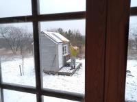 那須山小屋づくり - 寒かったり暖かかったり