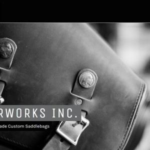 【アメリカ製】老舗レザーブランド『LeatherWorks・レザーワークス』のサイドバッグ取扱開始! [イナッキー]