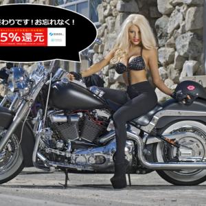 【イナッキー】キャッシュレス還元5%でハーレーカスタムをする最後のチャンス!!