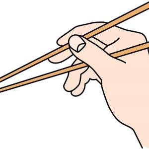 箸の持ち方が綺麗な人 お箸を正しく使えるように練習した話