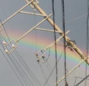 虹を見たよ 虹を見たとき誰かに言いたくなる?