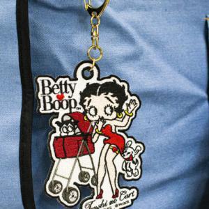 Betty Boopワッペンチャーム