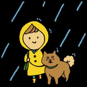 【梅雨対策】ペットの為にできる対策