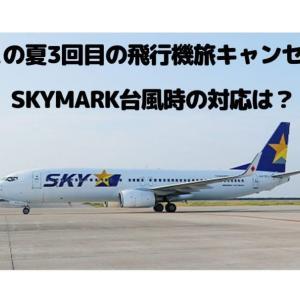 この夏3回目のキャンセル旅行&SKYMARK台風時の対応~