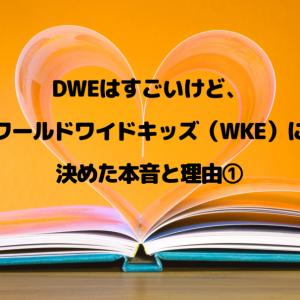 DWEはすごいけどワールドワイドキッズ(WKE)に決めた本音と理由①