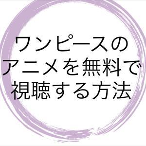 ワンピース【アニメ966話】最新話の見逃し動画を無料で見る方法!