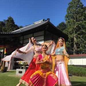10月28日光恩寺で踊りました!