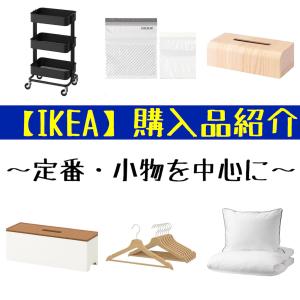 【IKEA購入品】定番・小物を中心に