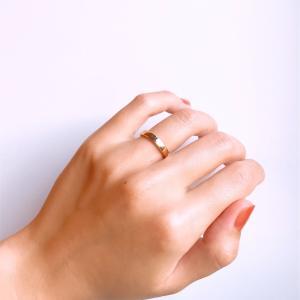 手作り指輪の完成度が想像以上に高くて満足しています