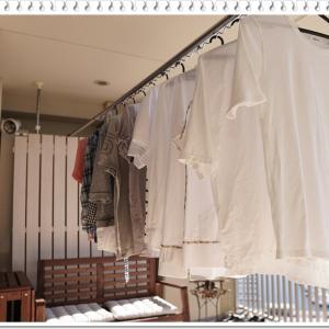 夏物のしまい洗いとオキシ漬け