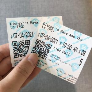 【春休みの過ごし方②】安い!ディズニー映画RAYAを観に行く。