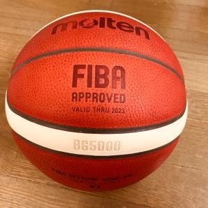 バスケットボールの消毒方法