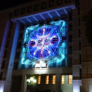 OSAKA光のルネサンス 2018・大阪市中央公会堂ウォールタペストリーと御堂筋イルミネーションの思い出