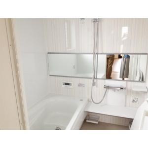 浴室収納 お風呂グッズは浮かせて掃除を楽に!
