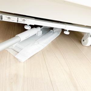 脱衣所 掃除をしやすく!床に物を置かない収納