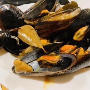 【レシピ】Mejillones a la sidra-ムール貝のシードラソース