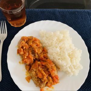 トマトから作るトマトソースのハンバーグ レシピ