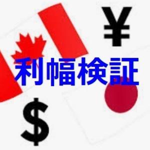 【トラリピ】カナダドル円の最適な利確幅を運用実績から検証!