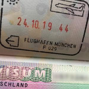 ドイツワーホリ終了3日後にドイツへ再入国
