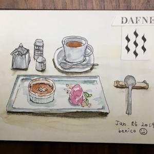 プチスケッチ:デザートを描いてみた