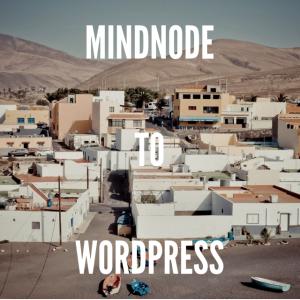 MindnodeからOmniOutlinerとiAwriter経由でWPに投稿する方法