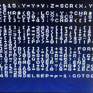 ★コンピュータ★IchigoJamにプログラムを打ち込みました!