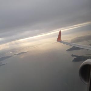 【飛行機】仁川空港→セントレア チェジュ航空 7C1600 最前列! 早朝 5時55分発【しんどい】