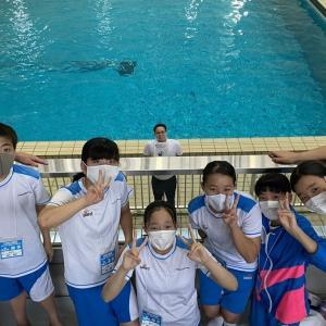 第2部 福岡県水泳記録会 26日 開催されました。