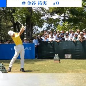 【男子ゴルフ】マスターズ帰りのアマチュア、金谷拓実のラウンド後コメント!中日クラウンズ1st Round