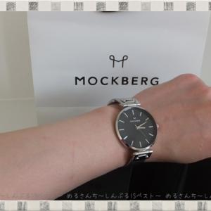 レディース腕時計は「ビッグフェイス」で「薄型」で「シンプル」そして「秒針」付きの「モックバーグ」がおすすめ!