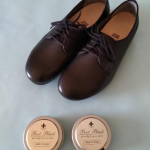 新品の靴の手入れ