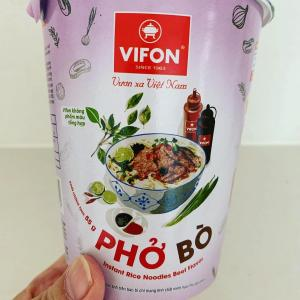 ベトナムのお土産のカップフォーを食べてみたら…旨っ♪